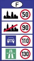 franciaország sebesség határok